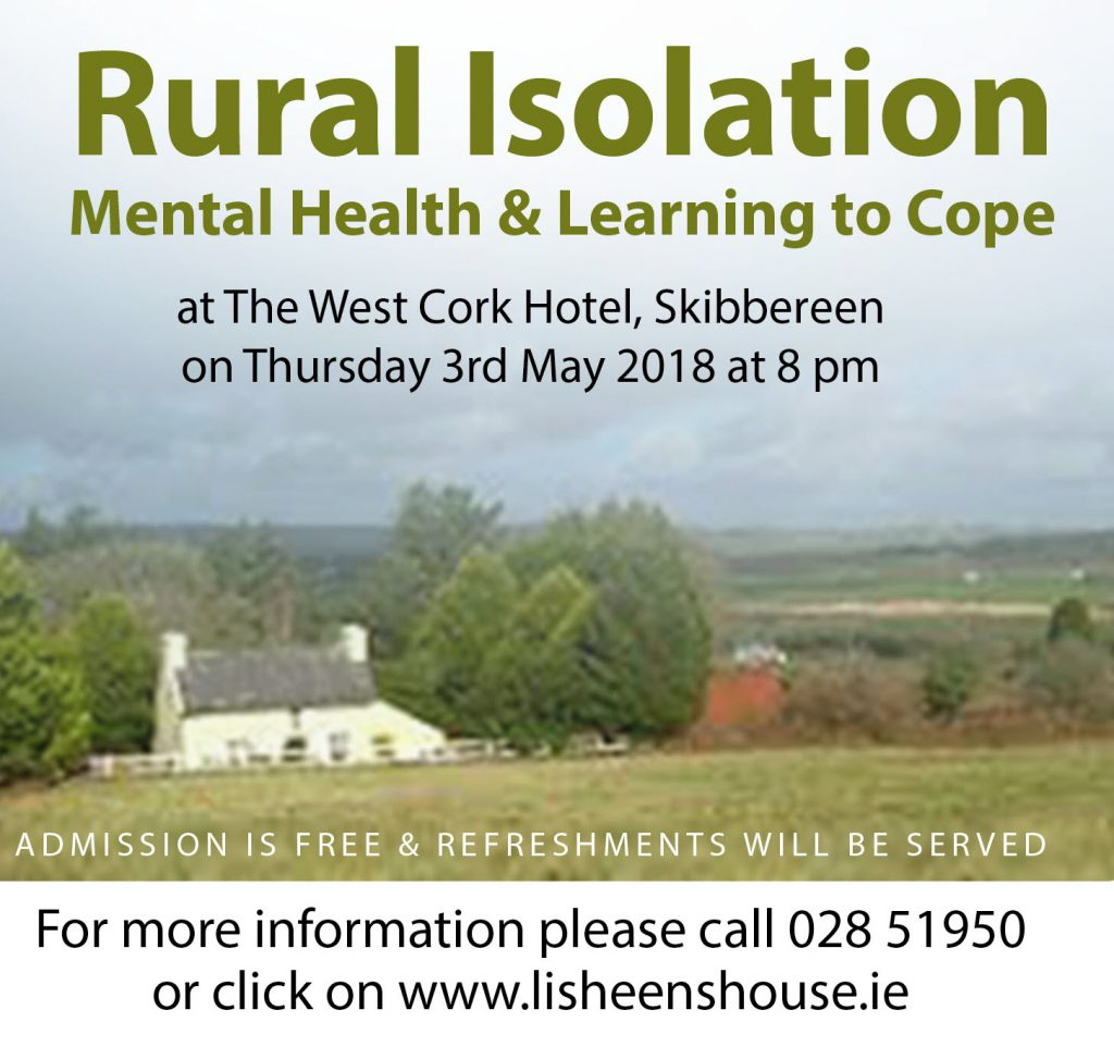 RURAL ISOLATION INFORMATION NIGHT 3rd MAY