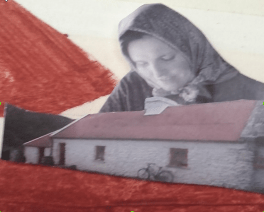 """""""Drawing on the Past"""" Memory Mural Project"""